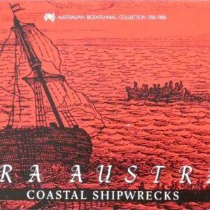1988 Australia Post Stamp Pack - Terra Australis II - Shipwrecks - A
