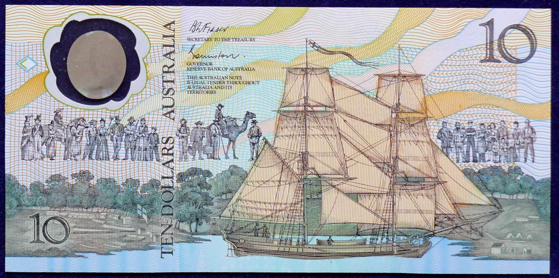 1988 Australia Ten Dollars Bicentennial - AB18 66