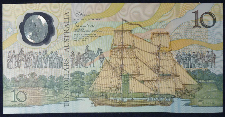 1988 Australia Ten Dollars Bicentennial - AB20 19