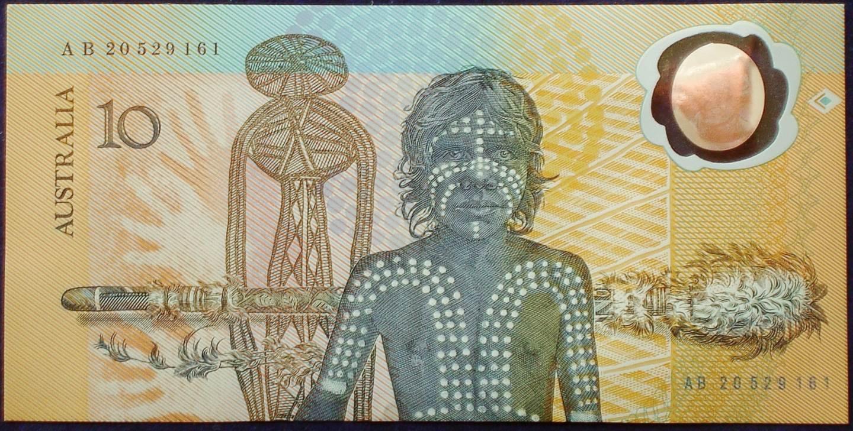 1988 Australia Ten Dollars Bicentennial - AB20 52
