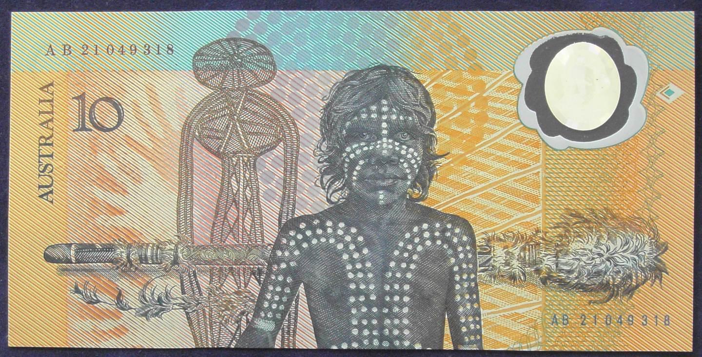1988 Australia Ten Dollars Bicentennial - AB21 04