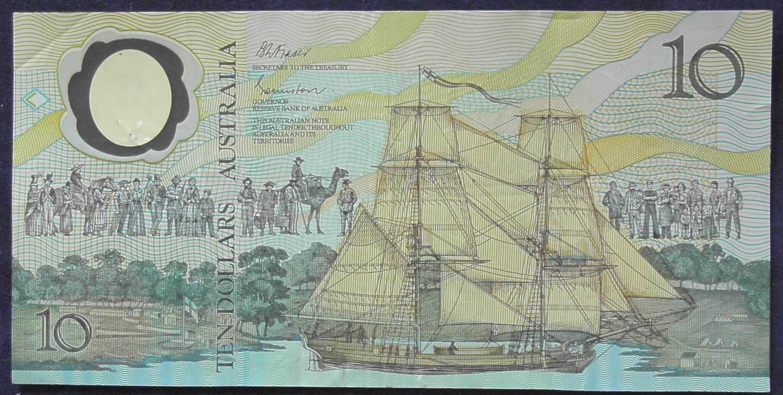1988 Australia Ten Dollars Bicentennial - AB21 63