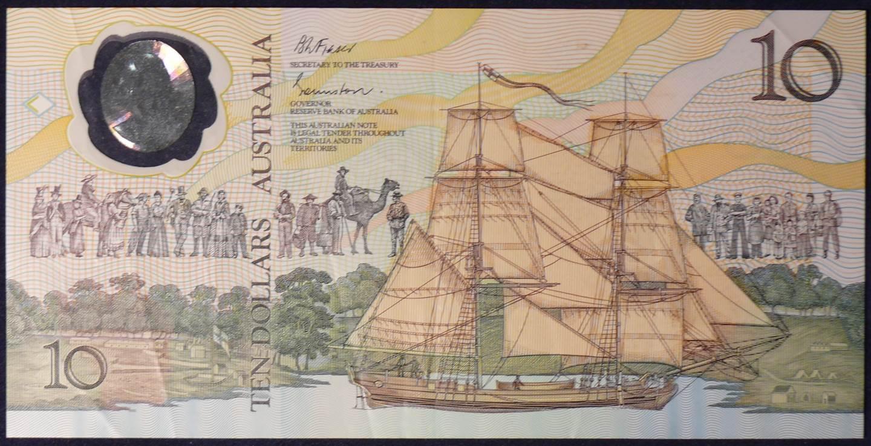 1988 Australia Ten Dollars Bicentennial - AB25
