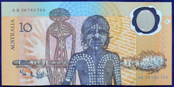 1988 Australia Ten Dollars Bicentennial - AB26 78