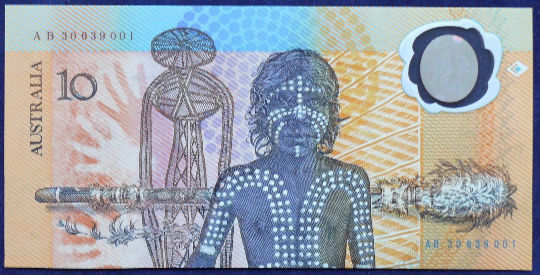 1988 Australia Ten Dollars Bicentennial Issue - AB30 63