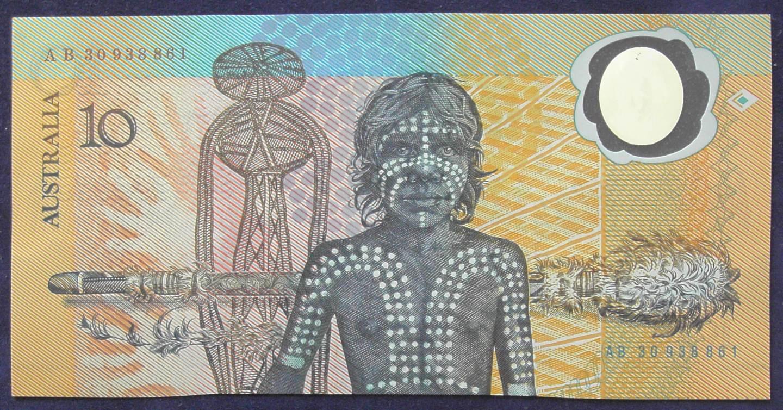 1988 Australia Ten Dollars Bicentennial Issue - AB30 93