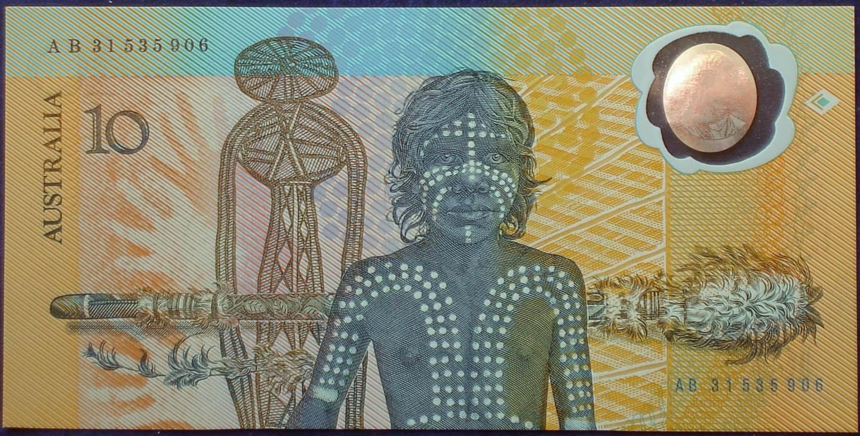 1988 Australia Ten Dollars Bicentennial Issue - AB31