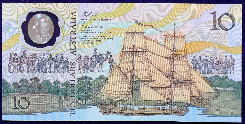 1988 Australia Ten Dollars Bicentennial Issue - AB33 04