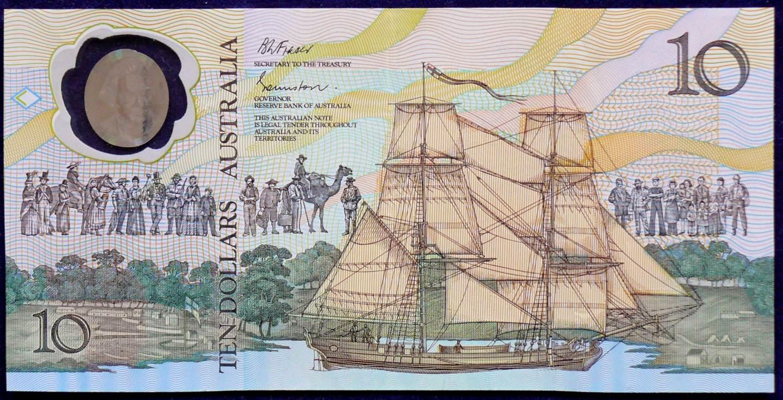 1988 Australia Ten Dollars Bicentennial Issue - AB33 61