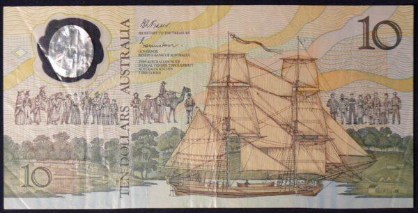 1988 Australia Ten Dollars Bicentennial Issue - AB47