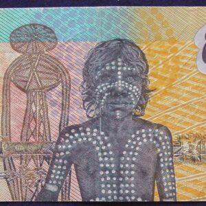 1988 Australia Ten Dollars Bicentennial Issue - AB57 - Last Prefix