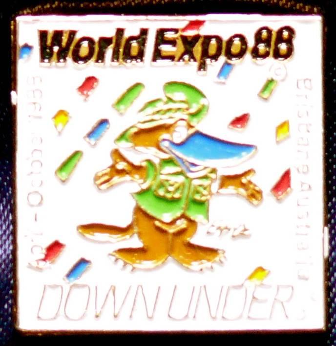 1988 Australia World Expo Enameled Pin