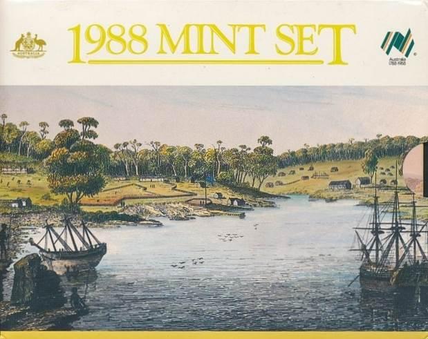 1988 Bicentennial RAM Uncirculated Coin Set