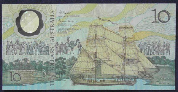 1988 Ten Dollars Bicentennial Issue - AB10 - First Prefix B