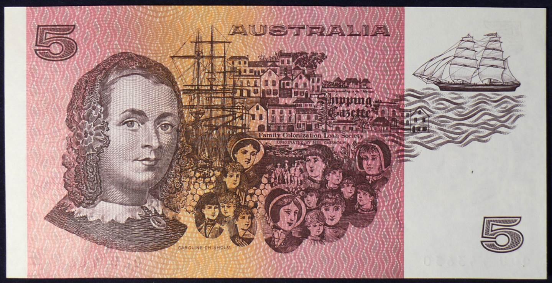 1990 Australia Five Dollars - QDU