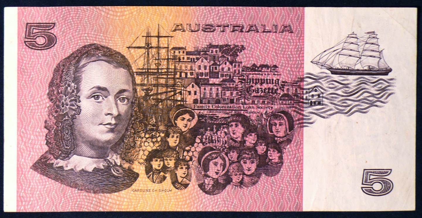 1990 Australia Five Dollars - QHD