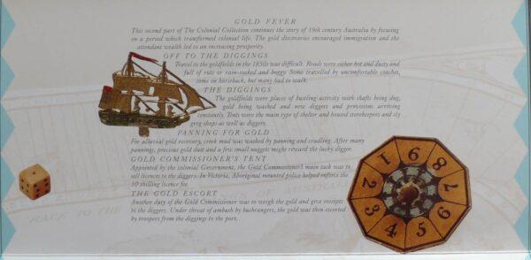 1990 Australia Post Stamp Pack - Gold Fever