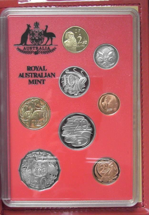 1990 RAM Decimal Proof Coin Set