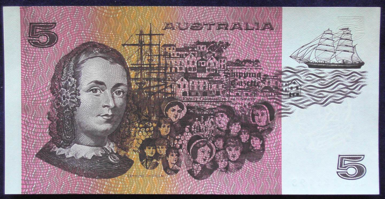 1991 Australia Five Dollars - QKZ