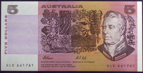 1991 Australia Five Dollars - QLE