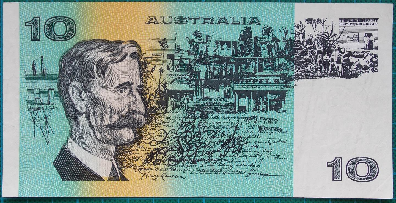 1991 Australia Ten Dollars MKS With PIL