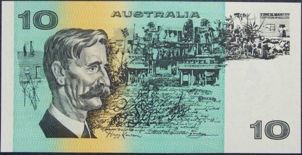 1991 Australia Ten Dollars - MQP