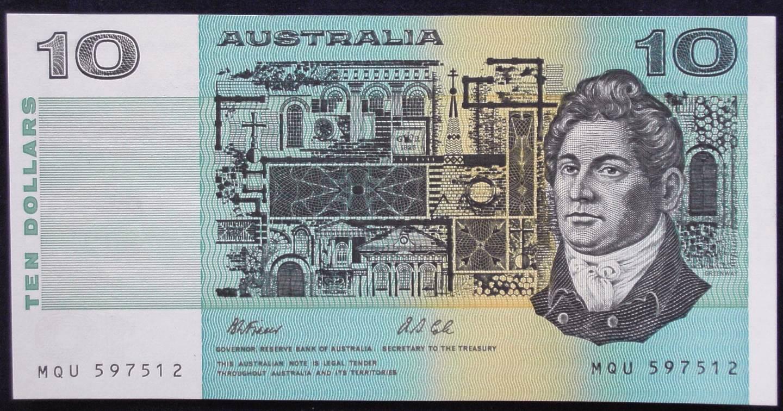 1991 Australia Ten Dollars - MQU