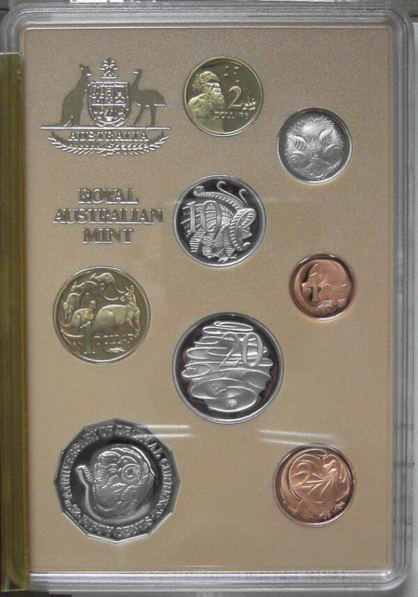 1991 RAM Decimal Proof Coin Set