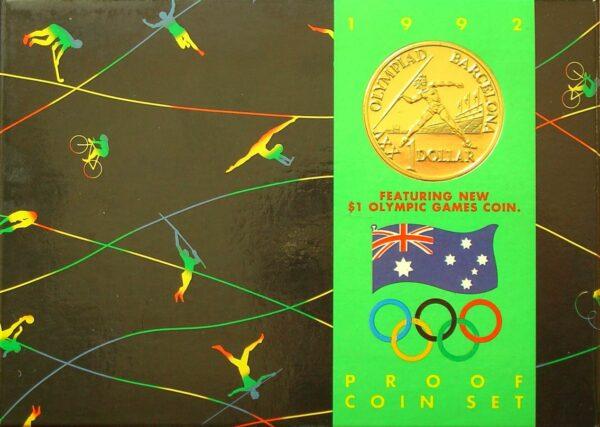 1992 RAM Decimal Proof  Set - Barcelona Olympics