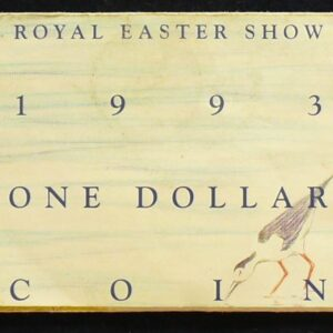 1993 Australia 1 Dollar Royal Easter  Show Coin