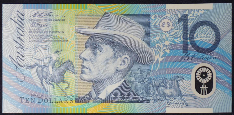 1993 Australia Ten Dollars Polymer - BJ 93