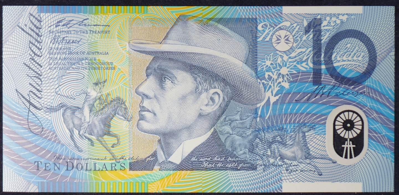 1993 Australia Ten Dollars Polymer - IA 93