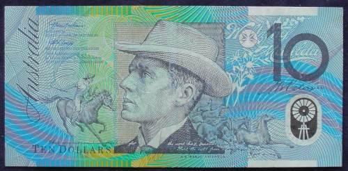 1993 AustraliaTen Dollars Polymer - AA 93 52