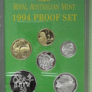 1994 RAM Decimal Proof Coin Set