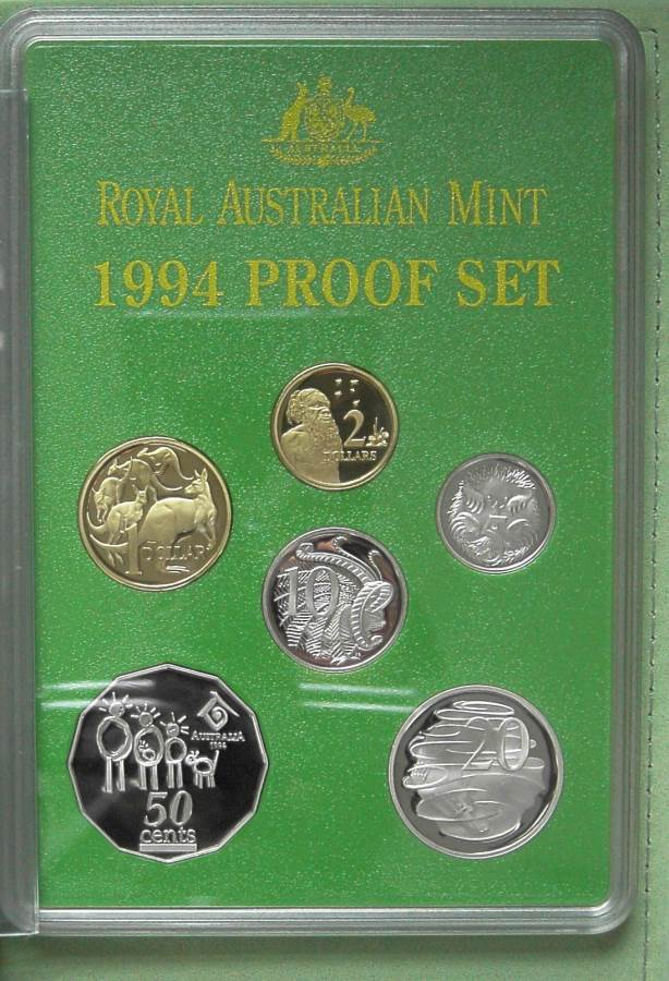 1994 RAM Decimal Proof Coin Set