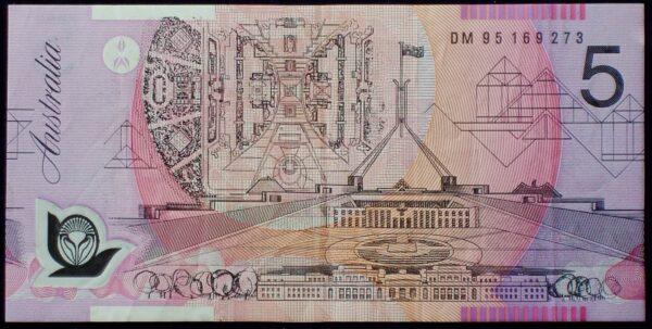 1995 Australia Five Dollars Polymer - DM95