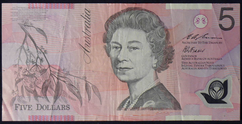 1995 Australia Five Dollars Polymer - FG95