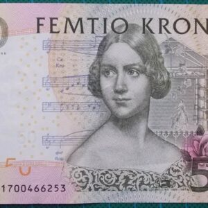 1996 Sweden Sveriges Riksbank 50 Kronor 1700466253