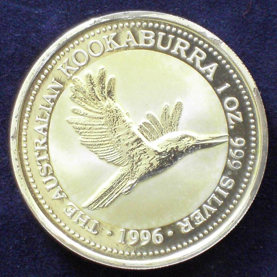 1996 Australia RAM Kookabura Proof 1oz Coin