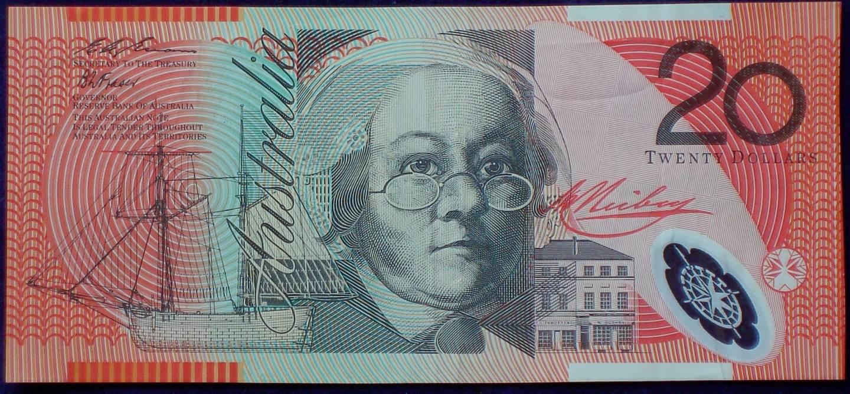 1996 Australia Twenty Dollars - AB96