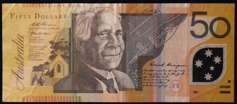 1997 Australia Fifty Dollars - ED 97