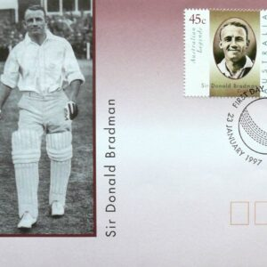 1997 Australia Post FDC - Sir Donald Bradman