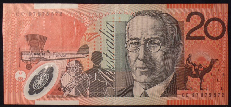 1997 Australia Twenty Dollars - CC 97