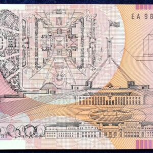 1998 Australia Five Dollars Polymer - EA98 Last Prefix  B