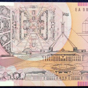 1998 Australia Five Dollars Polymer - EA98 Last Prefix  C