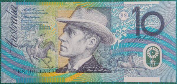 1998 Australia Ten Dollars Polymer  AC 98