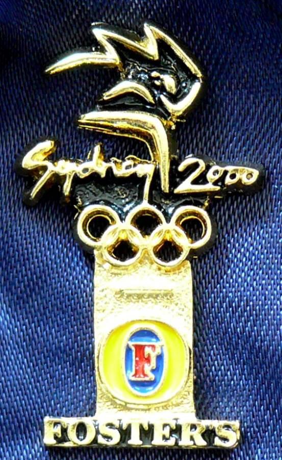 2000 Australia Sydney Olympics Fosters Pin