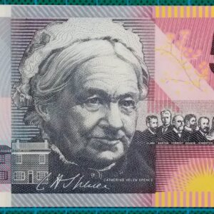 2001 Five Dollars Centenary of Federation AA01 First Prefix Pair