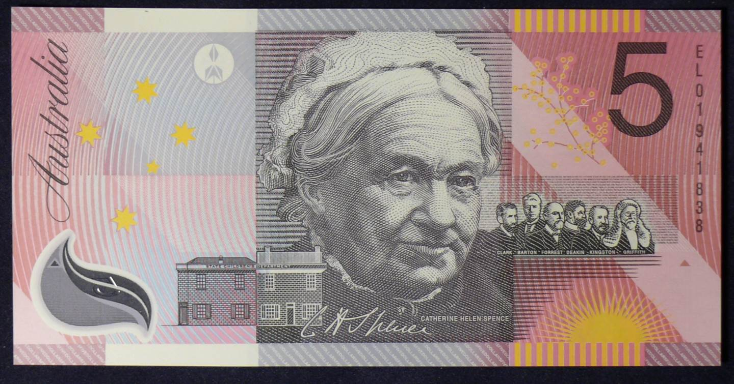 2001 Five Dollars Centenary of Federation - EL01