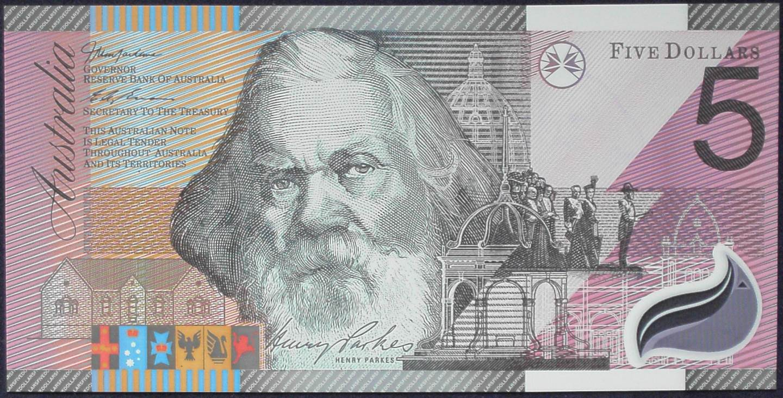 2001 Five Dollars Centenary of Federation - GG01
